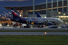 Aeroflot VP-BWD, OSL ENGM Gardermoen (Inger Bjrndal Foss) Tags: vpbwd aeroflot airbus a320 osl engm norway gardermoen