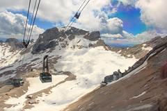 Zugspitze, Gletscherbahn (RunningRalph) Tags: cablecar deutschland duitsland germany kabelbaan seilbahn zugspitze garmischpartenkirchen bayern