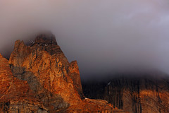Bullah Peak: Touching the clouds (Shahid Durrani) Tags: biafo glacier karakorams gilgit baltistan pakistan