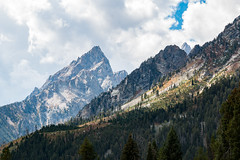 Teton Slopes (gclenaghan) Tags: 70d grandtetonnationalpark unitedstates wyoming honeymoon sigma1770mmf284dcmacrooshsmc us stringlake slopes alpine mountains landscape clouds