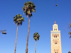 Mosque Koutoubia ( ), Marrakech () (twiga_swala) Tags: mosque koutoubia   marrakech  mosque marrakesh morocco maroc mezquita minarete minaret islamic architecture moghreb africa landmark tower building unesco world heritage patrimoine mondial
