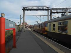 Crewe (ee20213) Tags: hertfordshirerailtours 90020 theayrapparent dbschenker collingwood wcml ews class90 crewe