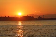 Sunset - Jamaica Bay (cgnss13) Tags: breezypoint breezy point queens new york newyork newyorkcity city jamaicabay jamaica bay brooklyn bridge sunset water sky