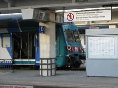La Spezia (Italy), Central Station (photobeppus) Tags: laspezia stations stazionecentrale centralstation railways trains trenitalia ferrovia stazioni treni