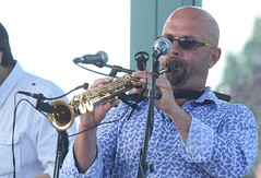 Viramundo (2016) 04 (KM's Live Music shots) Tags: worldmusic brazil viramundo marceloandrade sopranosax saxophone festivalofbrasil hornimanmuseum