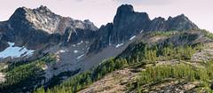 Cutthroat Pass (koebla) Tags: landscape alpine larch moutains wa