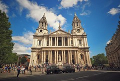 St. Paul's Cathedral (StefanJurcaRomania) Tags: london uk united kingdom gb great britain england st saint paul pauls cathedral church