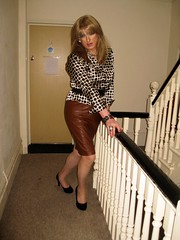 Forbidden fruit? (Julie Bracken) Tags: kelayla transvista cd tgurl feminized xdresser mature old tv portrait hair red fashion transvestite mini skirt transgender m2f mtf transsisters enfemme ginger redhead party tranny trannie heels nylon julieb85 crossdressing crossdresser tgirl feminised 2016 kinky pantyhose crossdress polyamorous lgbt ladyboy transsexual transexual