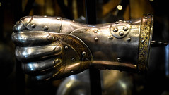 Royal Armouries (littlestschnauzer) Tags: royal armour armouries hand metal king glove protection display tower london white exhibit 2016 visit history historical strong protect nikon d7200 fist metalwork crafted individual