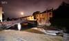 Cascatella sul Piovego e Ponte S.Agostino (Davide Anselmi) Tags: cascatella piovego ponte notte padova italia davideanselmi 2016