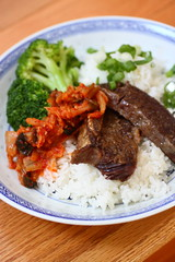 Korean short ribs (Adventuress Heart) Tags: koreanbbqshortribs shortribs pressurecooker ribs abundanceglutenfreeshopajax organicmeat organicbeef