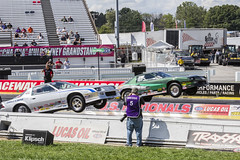 Chevrolet Performance Nationals (will139) Tags: lucasoilraceway clermontindiana us136 usnationals nhra nhrausnationals dragracing wheelie chevroletperformancenationals