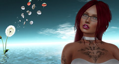 Gallery 1 (Jenna Jay ( jjdomzarjs )) Tags: dixmix gallery art secondlife sl slphotography splashdash slart jjdomzarjs gray colourpop lomography lomo holga vintage redhead sexy whittop whit top water