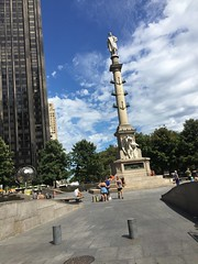 IMG_0417 (gundust) Tags: nyc ny usa september 2016 newyork newyorkcity manhattan architecture centralpark meadow grass lake skyline midtown columbuscircle