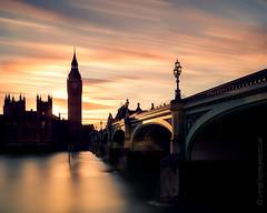 Ghosts of Westminster Bridge (AndWhyNot) Tags: london longexposure sunset a207735 elizabethtower bigben parliament westminster thames