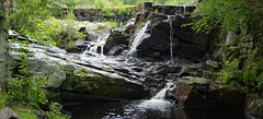 Southford Falls (vbd) Tags: pentax k3 vbd smcpentaxda55300mmf458ed ct connecticut waterfall newengland stone rocks water southfordfallsstatepark park handheld manualfocus 2016 2016summer