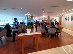 Lounge interior (A. Wee) Tags: jakarta 雅加达 indonesia 印尼 airport 机场 cgk soekarnohatta terminal3 garudaindonesia lounge