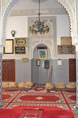 Zaouia (latifalaamri) Tags: zaouia sidiabdellahbenhassoun sal city morocco architecture intrieur zellij