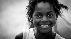 Anne (gunnisal) Tags: africa portrait bw blackandwhite monochrome girl face smile child gunnisal namibia