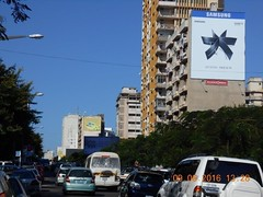 Mozambique, Av 24 de Julho  ( 15m x 12m Wrap) 2 (Alliance Media) Tags: billboards