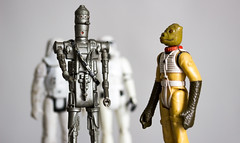 IG-88 and Bosk (IFM Photographic) Tags: img2682a canon 600d sigma105mmf28exdgmacroos sigma105mm sigma 105mm f28 ex dg macro os stilllife toys starwars figures robot android droid theempirestrikesback ig88 iggy bountyhunter stomtrooper snowtrooper bosk