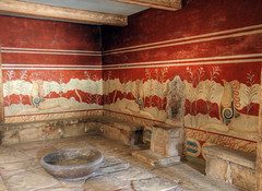 The Throne Room in Knossos, Crete (neilalderney123) Tags: 2016neilhoward greece crete knossos palace olympus history 2016neilhoward