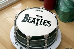 Beatles Drum Cake (simmiecakes) Tags: cake drum thebeatles