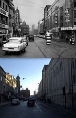 Lime Street 1959 and 2012 (Keithjones84) Tags: city cinema streets history liverpool buildings traffic suburbs roads comparison limestreet 1959 thenandnow merseyside trafficpoliceman oldliverpool