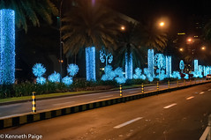 Christmas Lights - Ayala Center (Kenneth C. Paige) Tags: christmas urban lights holidays philippines christmaslights makati avenue ayala ayalaavenue