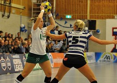 121215_BW_PKC_0093 (RV_61, pics are all rights reserved) Tags: amsterdam groen korfbal blauwwit pkc korfballeague robvisser rvpics blauwwithal