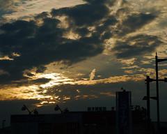 キレイな夕焼けの写真