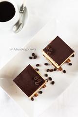 Opera Cake (AlenaKogotkova) Tags: cake dessert yummy opera sweet chocolate ganache buttercream
