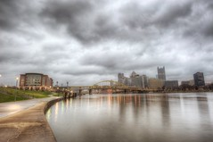 A gloomy day over the Pittsburgh skyline from the North Shore HDR (Dave DiCello) Tags: beautiful skyline photoshop nikon pittsburgh tripod usxtower christmastree mtwashington northshore northside bluehour nikkor hdr highdynamicrange pncpark thepoint pittsburghpirates cs4 ftpittbridge steelcity photomatix beautifulcities yinzer cityofbridges tonemapped theburgh clementebridge smithfieldstbridge pittsburgher colorefex cs5 ussteelbuilding beautifulskyline d700 thecityofbridges pittsburghphotography davedicello pittsburghcityofbridges steelscapes beautifulcitiesatnight hdrexposed picturesofpittsburgh cityofbridgesphotography