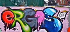 Groningen Graffiti : Ciboga terrein (Akbar Sim) Tags: streetart netherlands graffiti nederland groningen ergos ciboga akbarsimonse akbarsim