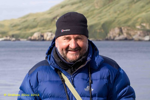 Graham Ekins (Me) off  Cooper Bay, South Georgia, April 2011,