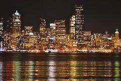 Night Seattle
