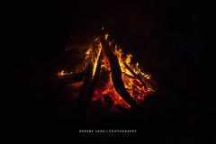 Campfire, Australia (Robert Lang Photography) Tags: camping red orange black hot horizontal fire flames stock australia nopeople roast burning campfire burn heat sa southaustralia