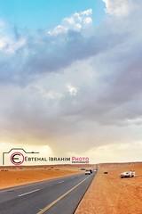 طريق البر (Ebtehal Ibrahim) Tags: canon البر عنيزة الغضا