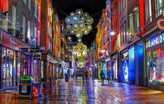 Carnaby Street Xmas Lights (Anatoleya) Tags: christmas street xmas city london st night canon lights evening mark iii carnaby 5d hdr 5d3 anatoleya