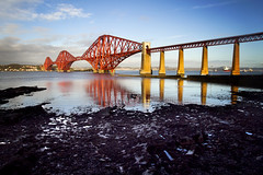 Firth of Forth bridge (Salva Coll) Tags: bridge red forth firth seleccionar