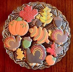 Thanksgiving Cookie platter