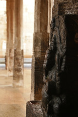 Temple under heavy rain (daniel.virella) Tags: india rain temple ganesha religion ganesh shiva hinduism cyclone tamilnadu ganapati trichy chola tiruchirapalli nylam thiruvanaikaval திருவானைக்காவல் thiruvanaikal jambekeswaram pillaiiar