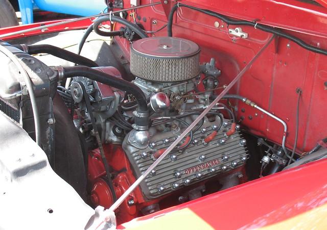 ford f100 1953 offenhauser fordv8 fordflatheadv8 fourbarrel