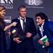 Josè Mourinho awarded by Diego Armando Maradona