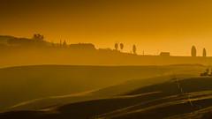 Sunshine (Karmen Smolnikar) Tags: morning italy sun sunshine sunrise italia tuscany crete toscana asciano senesi