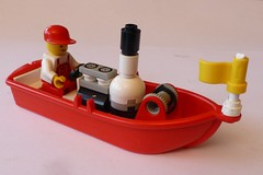 LEGO Steam boat V2 2 (Elsie esq.) Tags: toy lego build constructional