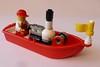 LEGO Steam boat V2 2 (Elsie esq.) Tags: toy lego build constructional