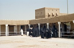 Women shoppers, Riyadh (1996) (Duncan_and_Gladys) Tags: sa riyadh saudiarabia