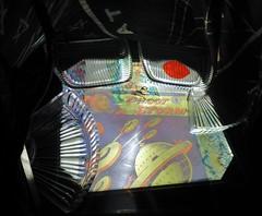 UFO (micky the pixel) Tags: germany deutschland comic raumschiff ufo psychedelic lightshow weltall saarland kristall neunkirchen vannutt pilootstorm