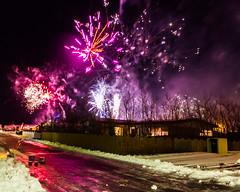 Gamlárskvöld í Vogum á Vatnsleysuströnd (icecold46) Tags: new eve fireworks year midnight 2012